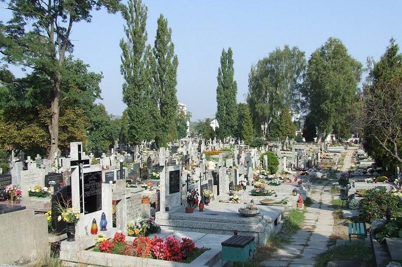 cmentarz wawrzyszewski chomiczowka bielany warszawa
